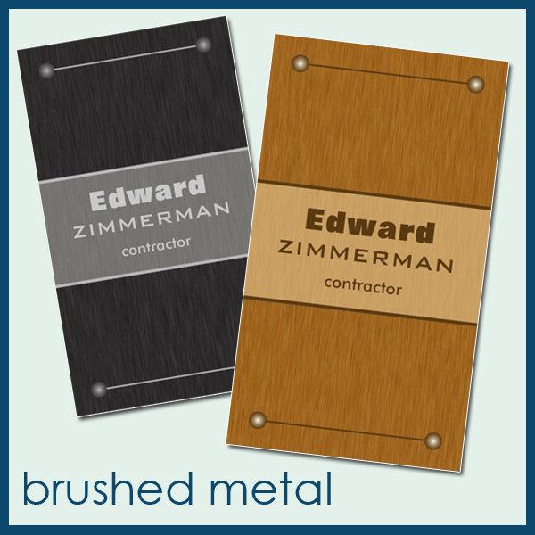 :: brushed metal ::