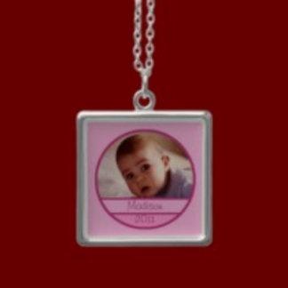 Baby Photo Necklaces