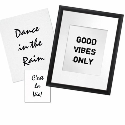 * White * CanvasArt - Posters - Cards