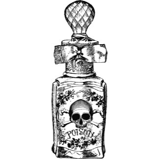Pretty Poison Bottle