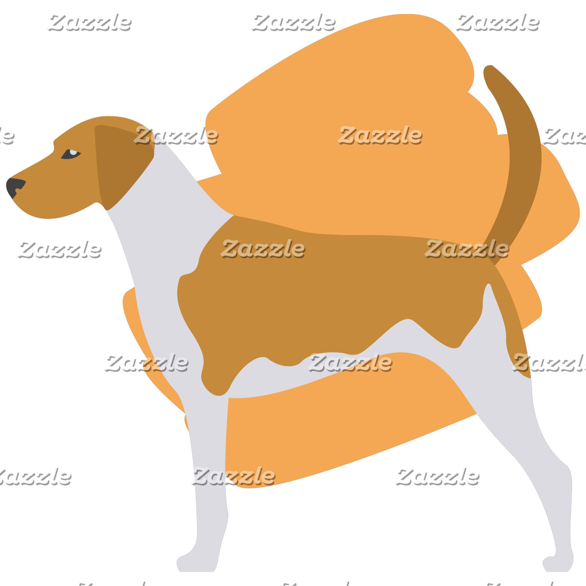 American Fox Hound Illustration
