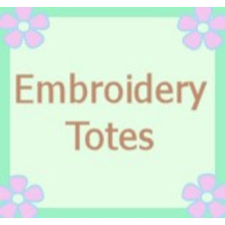 Embroidered Totes