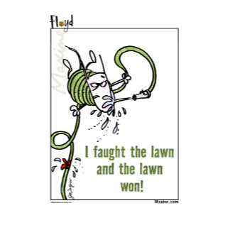 Maxine & Floyd Faught the Lawn