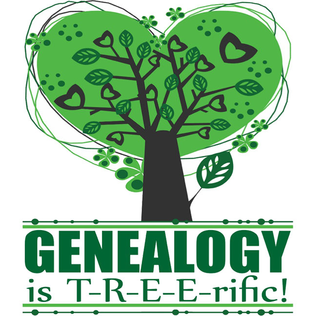 Genealogy is T-R-E-E-rific!