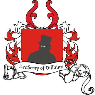Academy of Villainy apparel