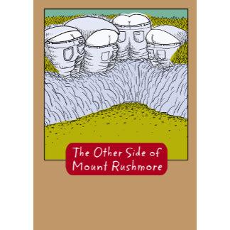 """""""Funny Mt. Rushmore Poster Print"""""""