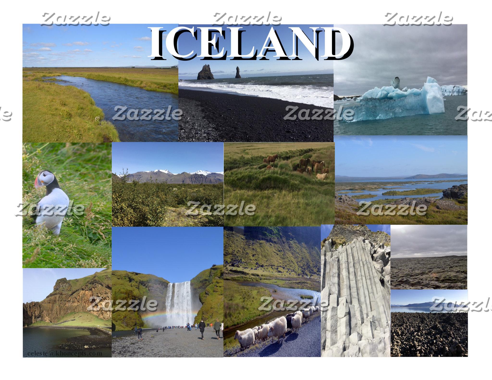Iceland Summer Landscapes