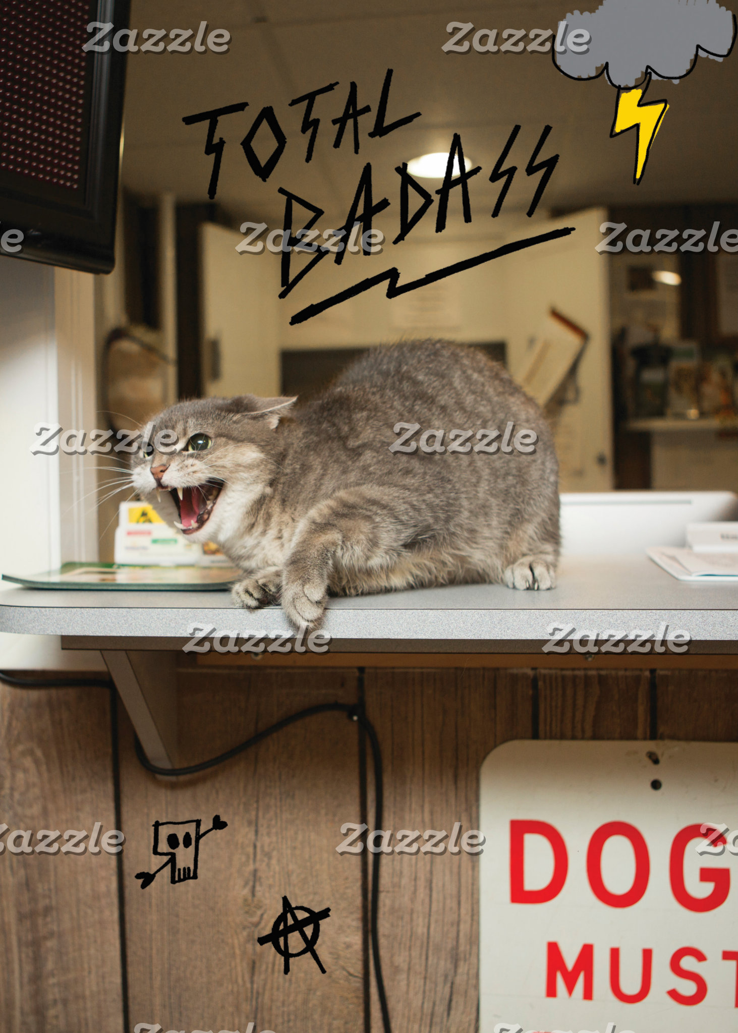 Total Badass Cat