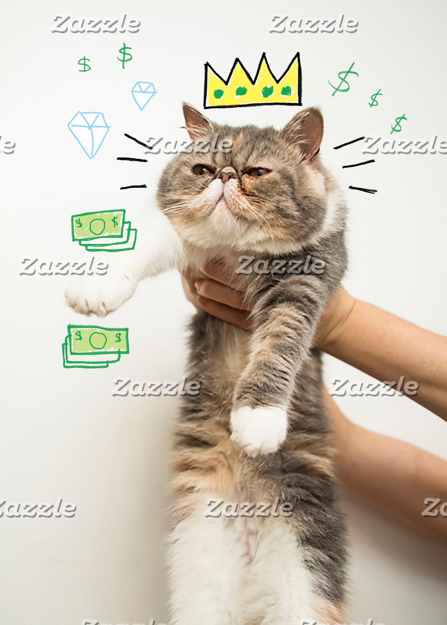Rich King Cat
