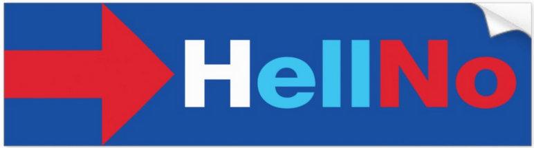 Anti-Hillary Bumper Stickers