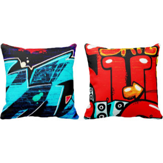 Double Sided Throw Pillows