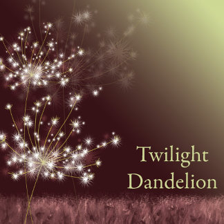 ♥ Twilight Dandelions