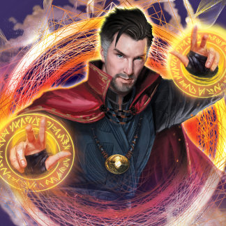 Doctor Strange Mandalas of Light Graphic