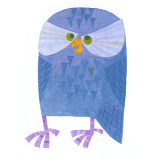 """Owl Poster Print"""