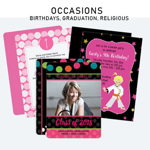Birthdays and Occasions