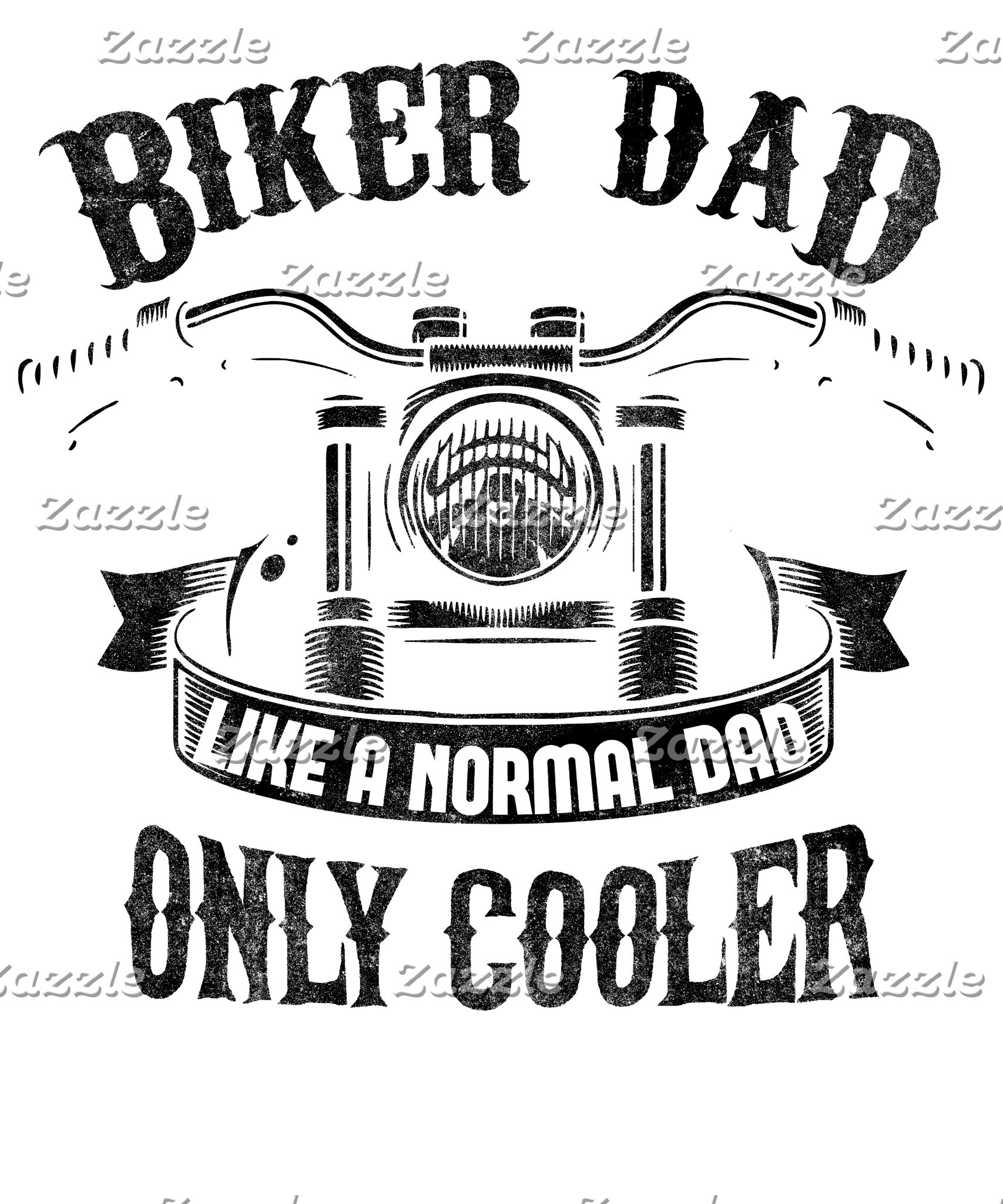 Biker Dad Like A Normal Dad Only Cooler