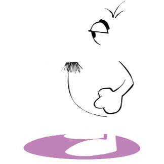 A Faded Clouseau on the Purple Dot