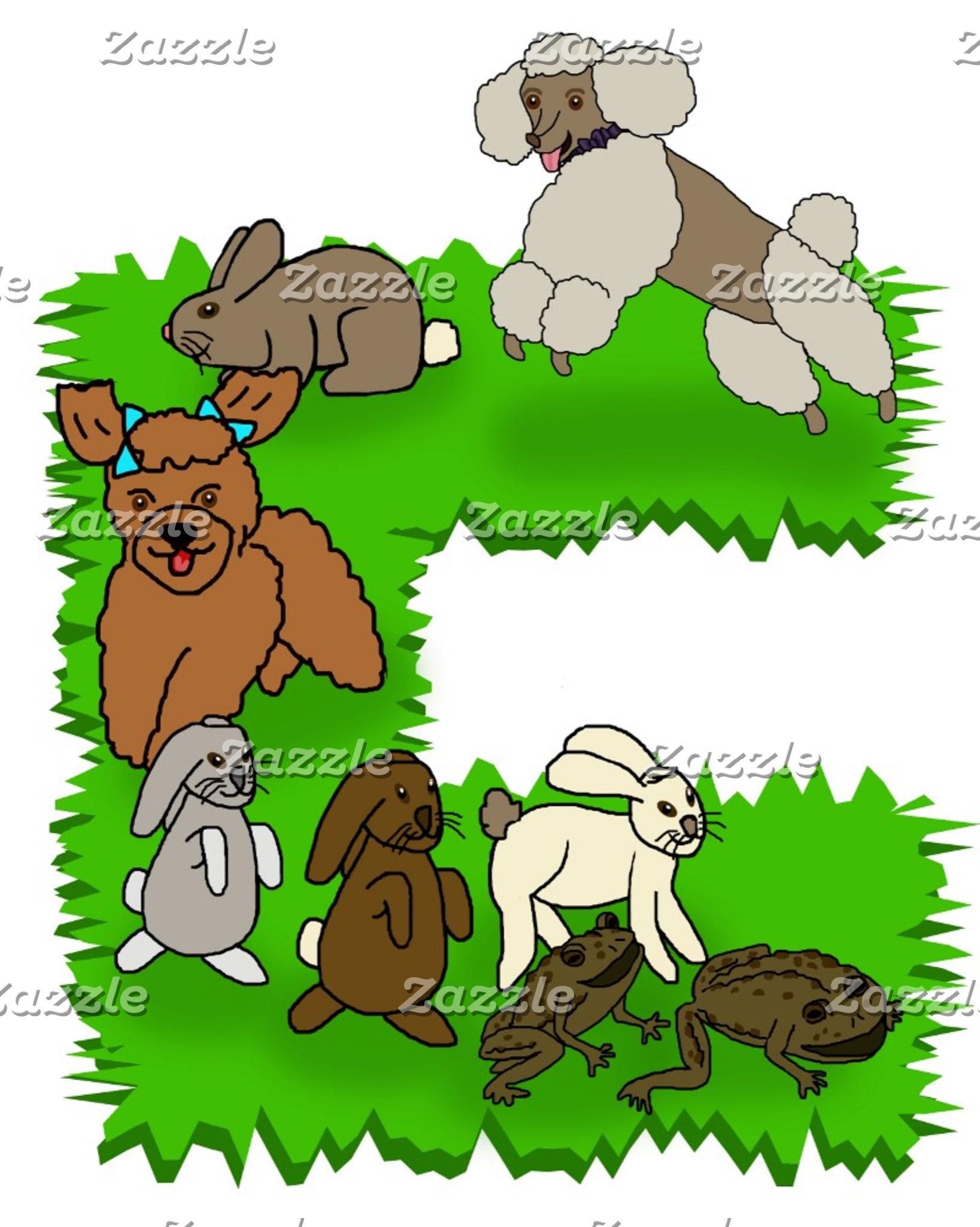 Poodles Bunnies & Toads