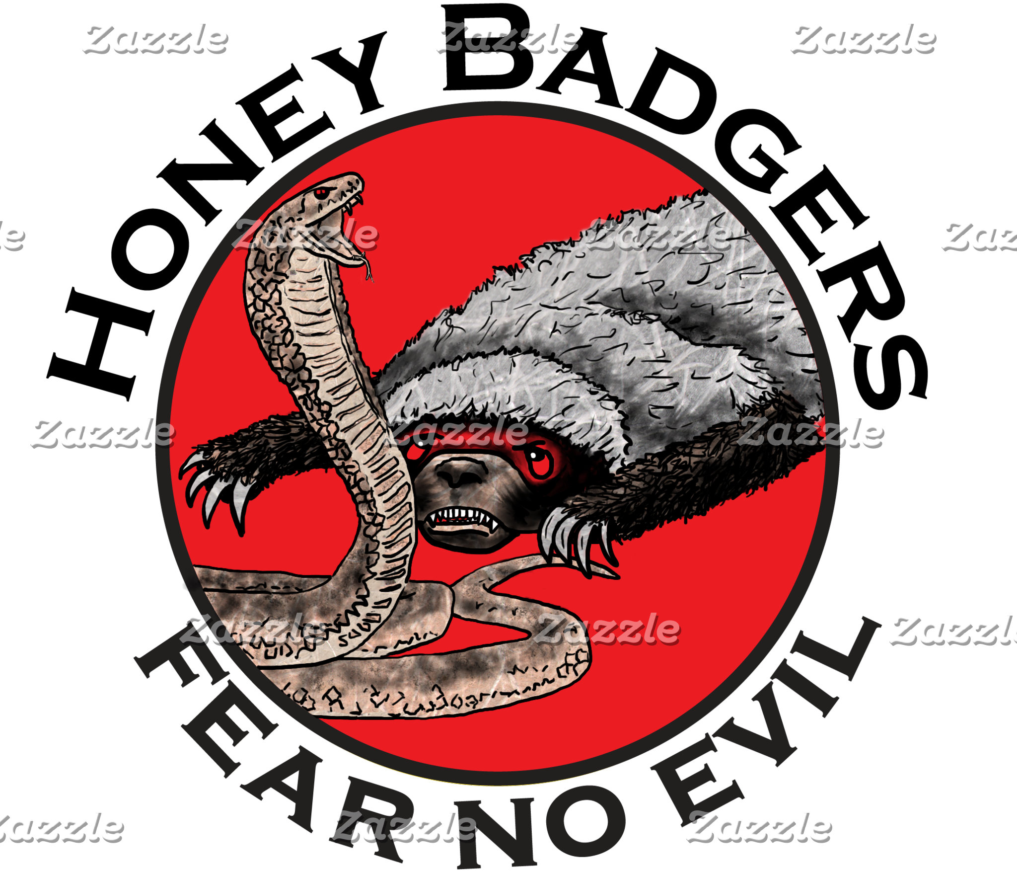 Honey Badgers Designs