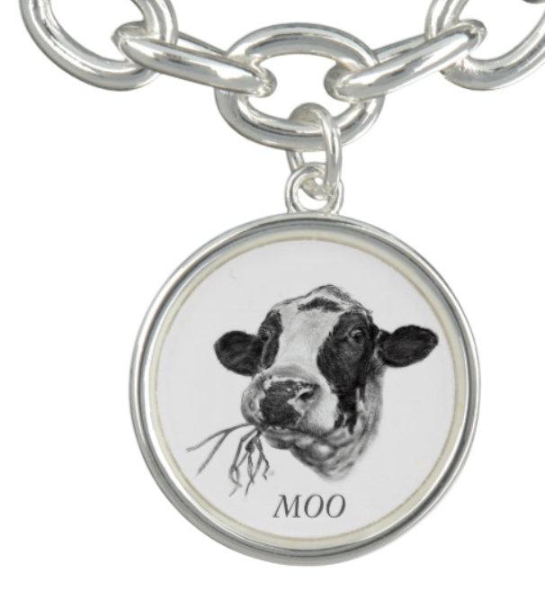 Happy Holstein Friesian Dairy Cow