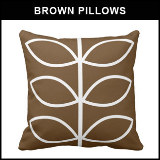 Brown Pillows
