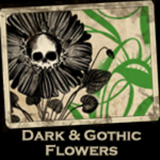 Gothic and Dark Flowers
