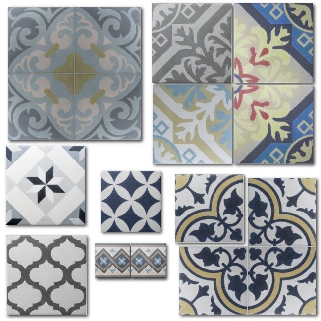 Encaustic Cement Tile