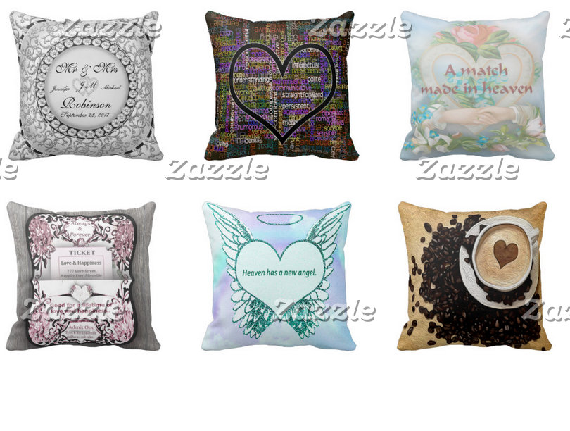 ❤ Throw Pillows