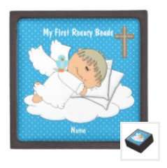Rosary Bead Box - My 1st