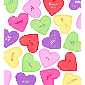 Colorful Conversation Hearts