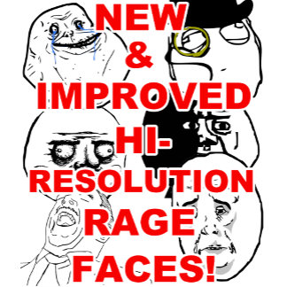 Hi Res Rage Comic Faces