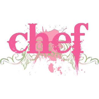 Chef - Pink Grunge
