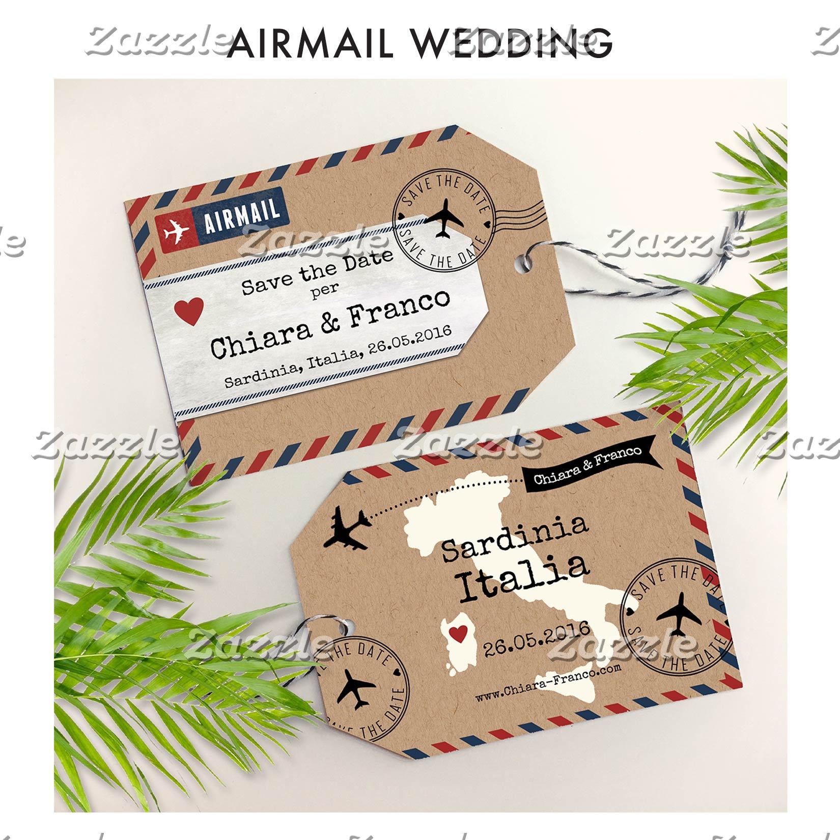 Airmail Wedding