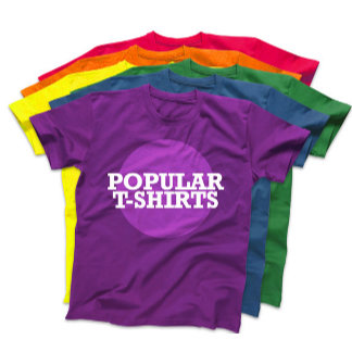 ► POPULAR T-SHIRTS