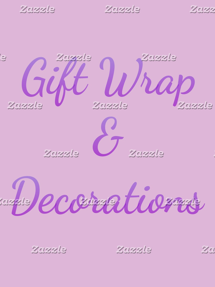 Gift Wrap & Decorations