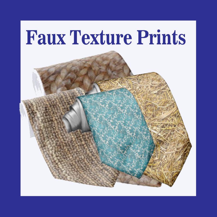 Faux Texture Prints