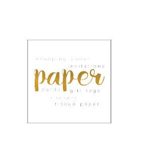Invites, Paper & Stamps