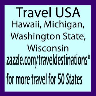 Travel USA - MI, HI, WI, WA