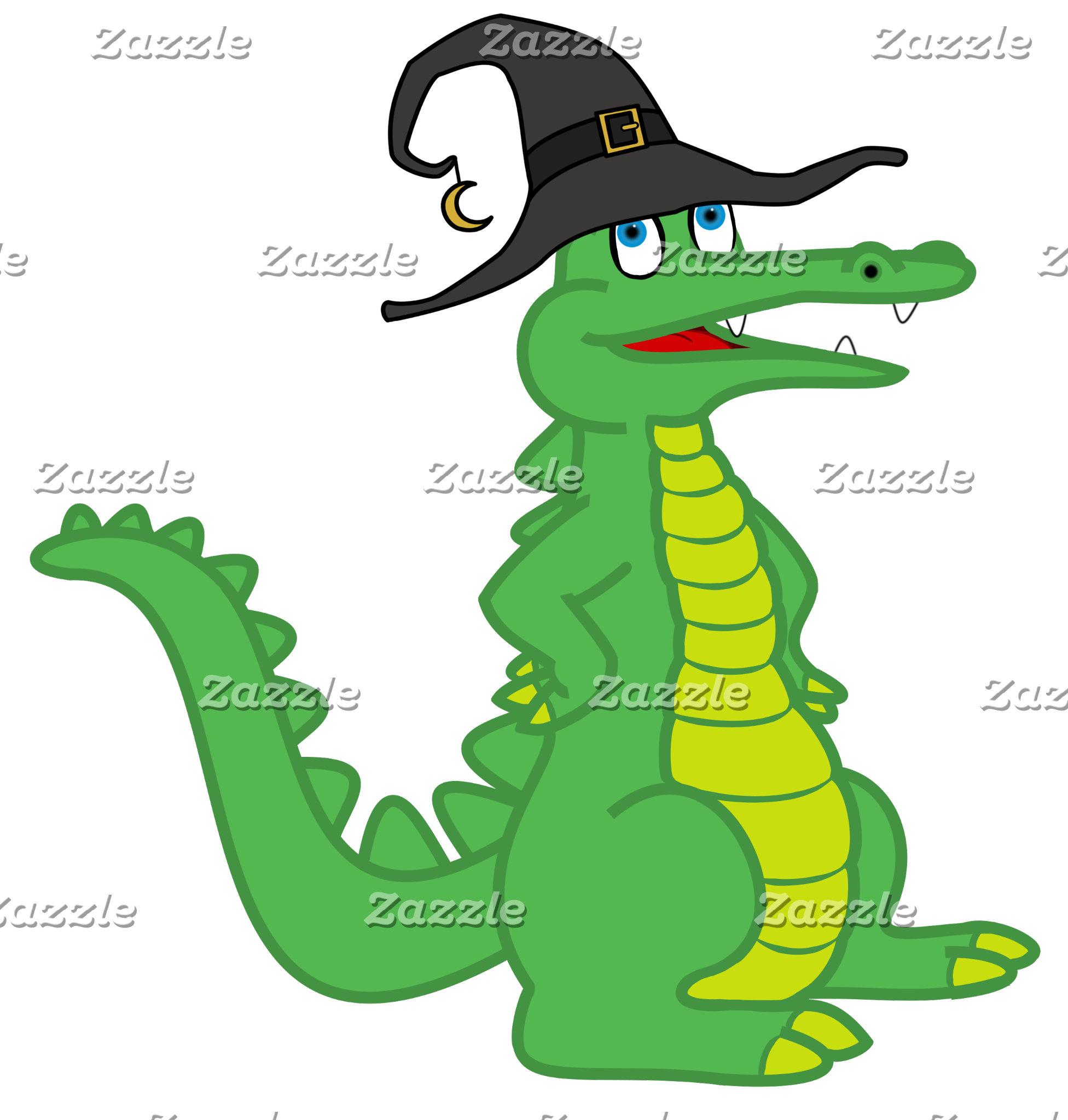 Halloween Alligator