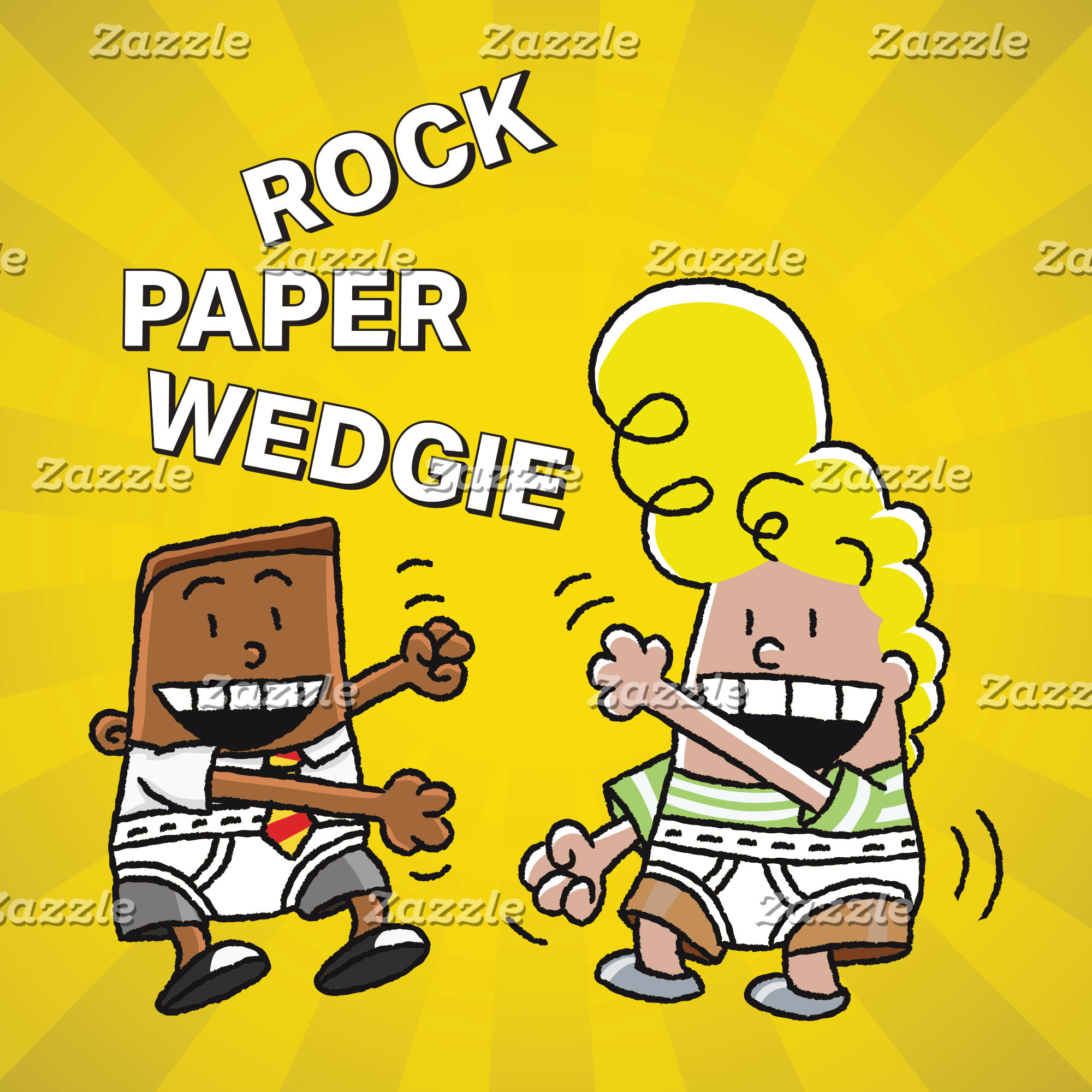 Rock Paper Wedgie