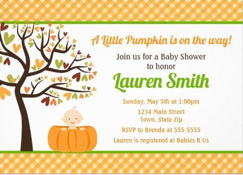 Fall / Halloween Invites