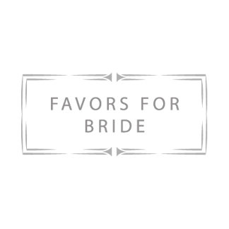 Favors for Bride
