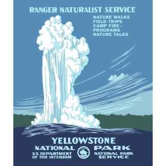 Vintage Yellowstone Poster