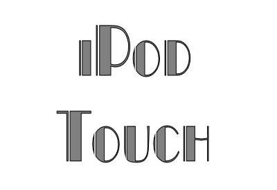 2b. iPod Touch