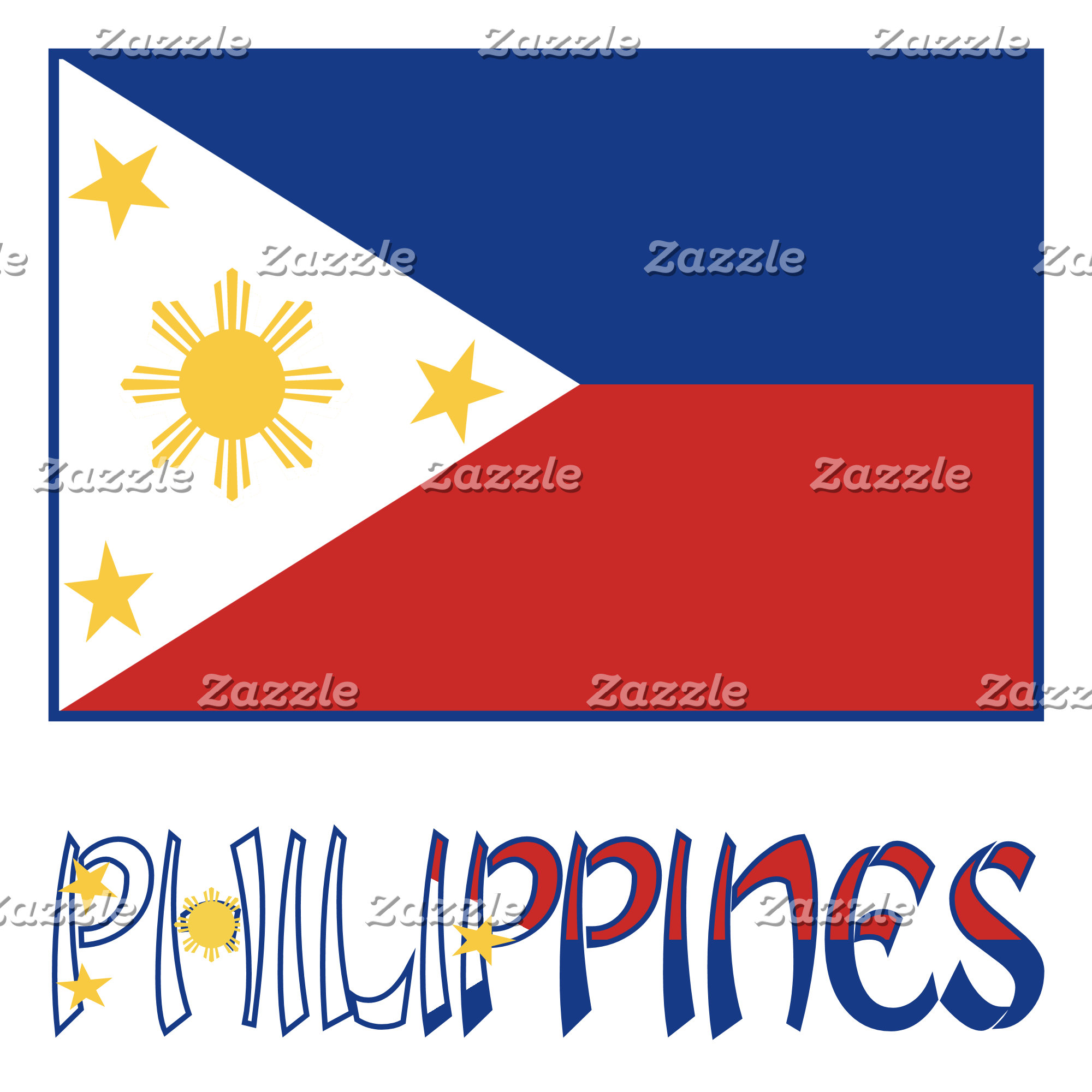 Filipino Flag and Philippines