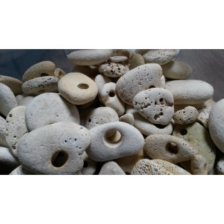 Stones with holes
