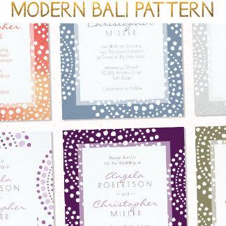Modern Bali Pattern
