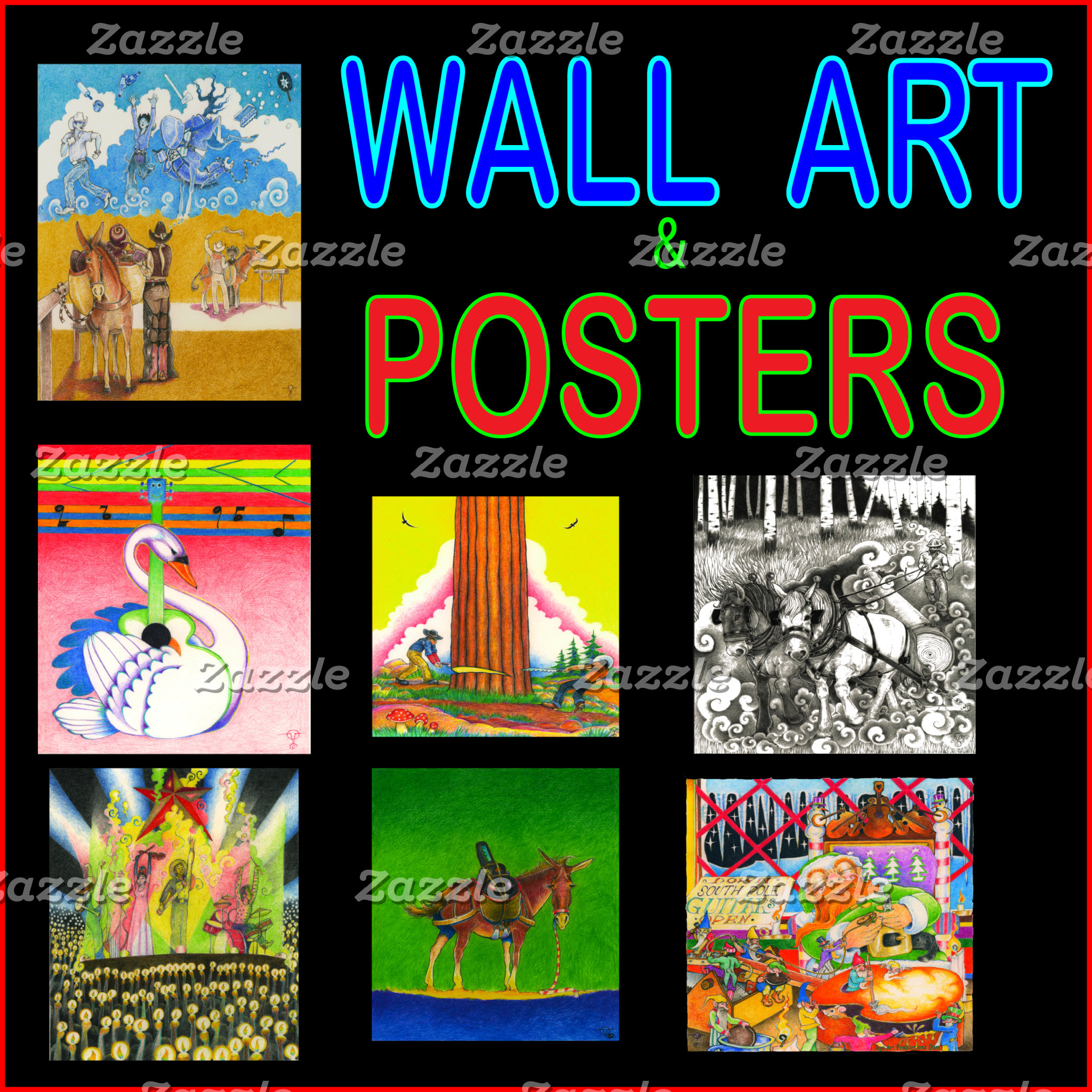 WALL  ART & POSTERS