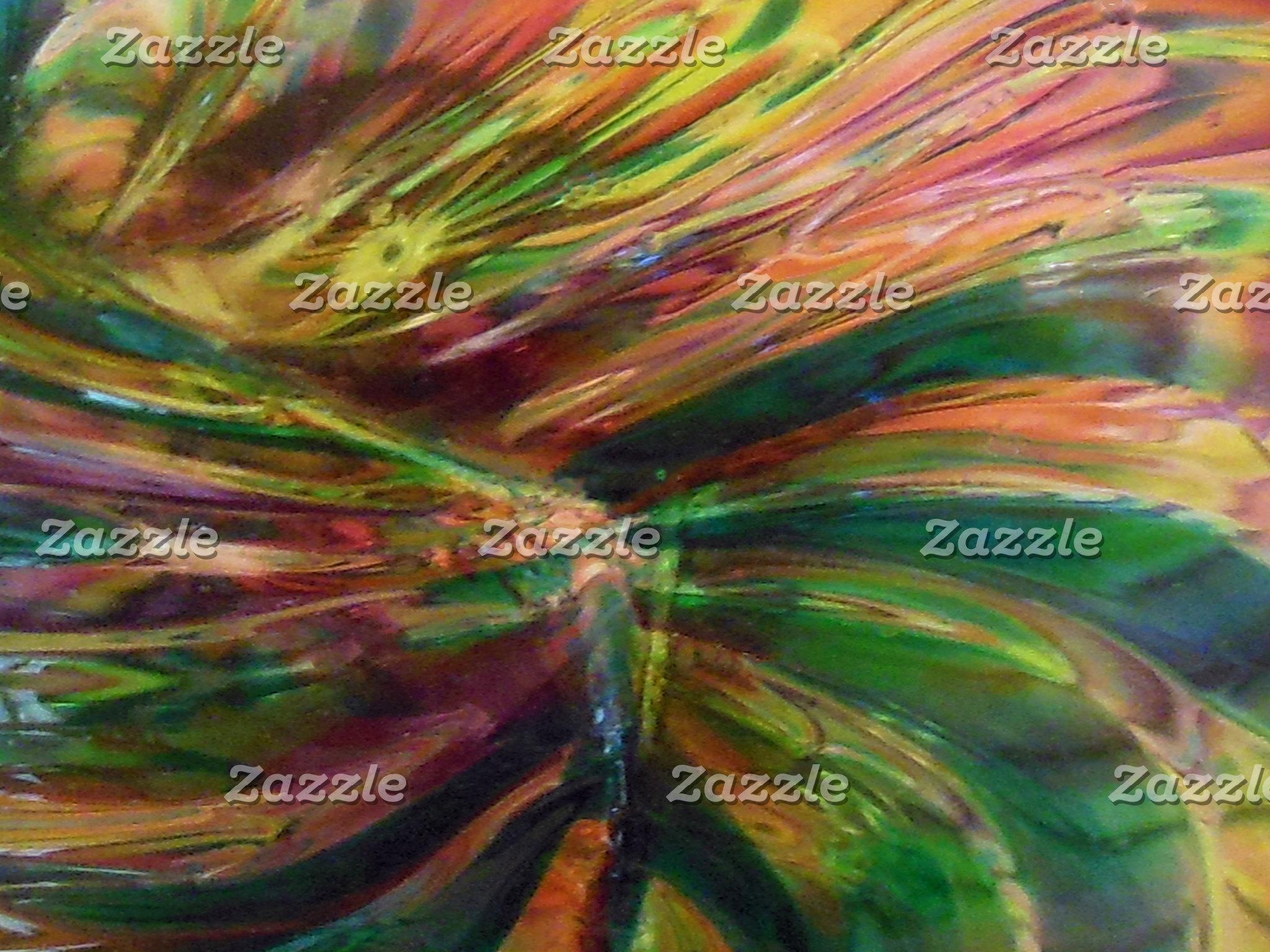 Abstract Denim Pattern