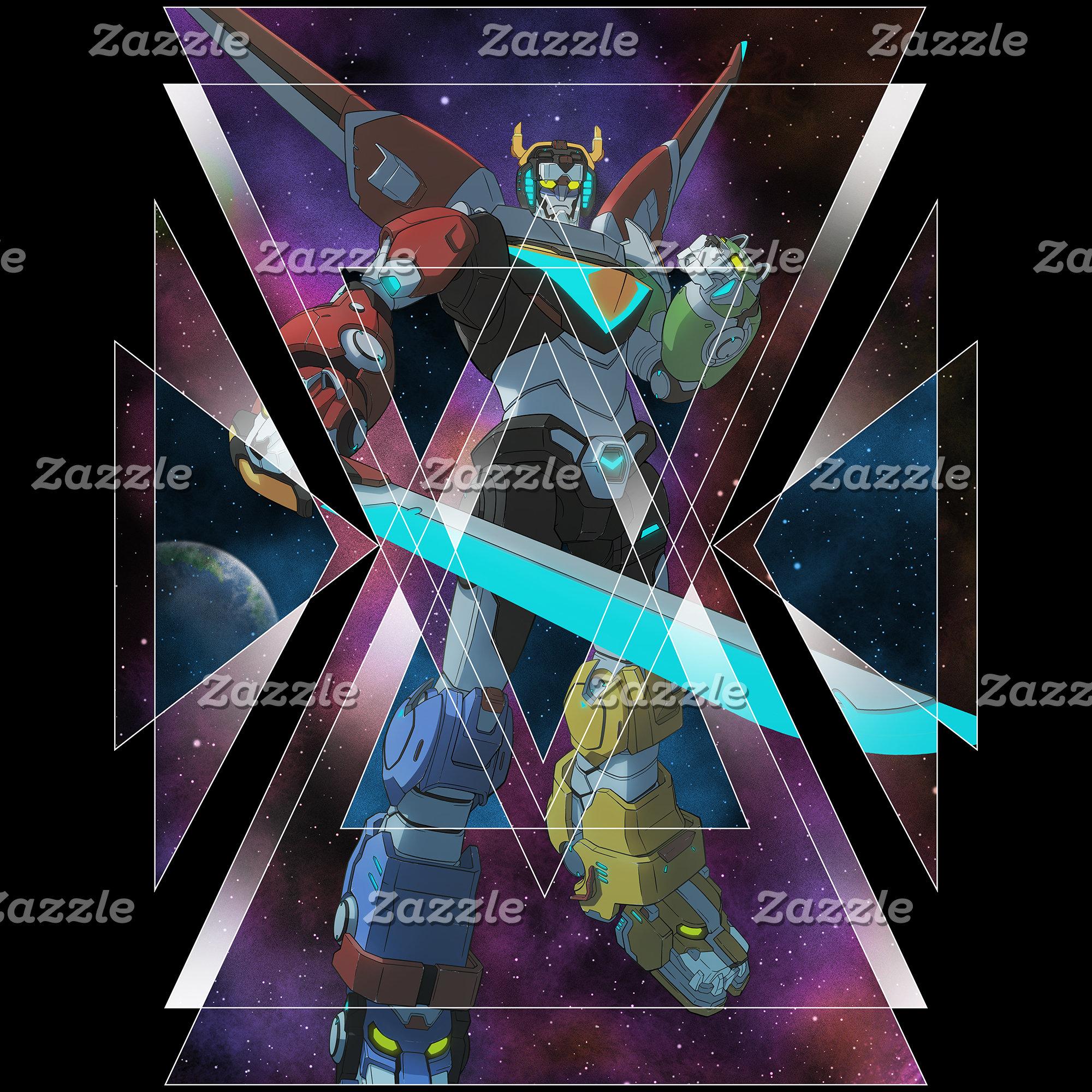 Voltron | Intergalactic Voltron Graphic